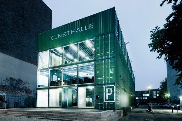 Frontside view of Platoon Kunsthalle Berlin
