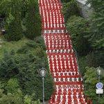 2013's Barricade in Austria used police barricades for maximum blockage. Photo: Gerhard Maurer