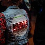 Trafo Pop LED Jacket by Alexander Branczyk and Kathi Winkler. © Adlan Mansri