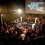 Full house at PLATOON for the first Intellectual Fight club - Photo Credit: Danilo Rasori
