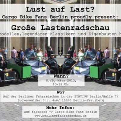 BERLIN · FAHRRAD SCHAU