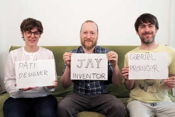 THE BETABOOK TEAM: (from left to right) Patrizia Kommerell, Jay Cousins and Gabriel Shalom