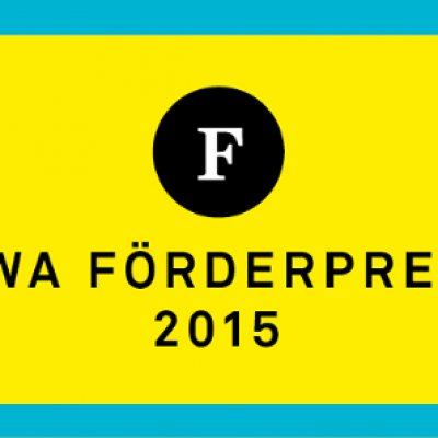 DWA Förderpreis 2015