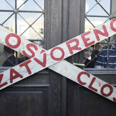 SARAJEVO · Culture Shutdown