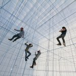 Like Net, String is found within an inflatable structure. Vienna, 2014. Photo: Numen