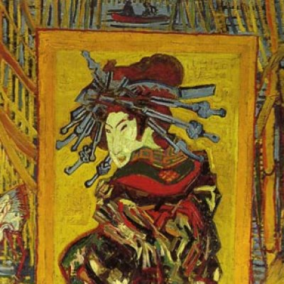 SINGAPORE · Van Gogh's 'The Courtesan'