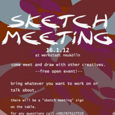 BERLIN · Sketch Meeting