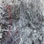Untitled No. 10 from Yang's Wall series of paintings of mixed media on canvas. Photo: Courtesy of the artist