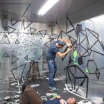 Installing inside PLATOON KUNSTHALLE Berlin, 2014. Photo: Sven Hagolani