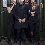 Anna Anderegg (Asphaltpiloten), Marco Barotti #7777 (Sound of Light), Tatsuru Arai (Vitruvian) and Hen (Stratofyzika) © Peter Lorenz