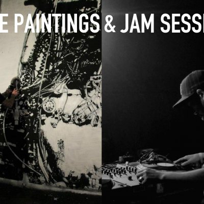 BERLIN · LIVE PAINTINGS & JAM SESSION
