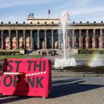 G's Stop / Think public intervention in and Berlin, 2014. © Marc Brinkmeier