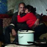 Bulgarian refugees have made a home the derelict building.