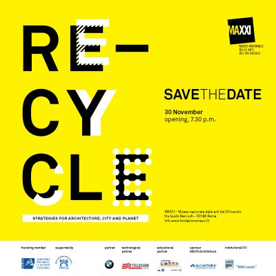 ROME · RE-cycle exhibition