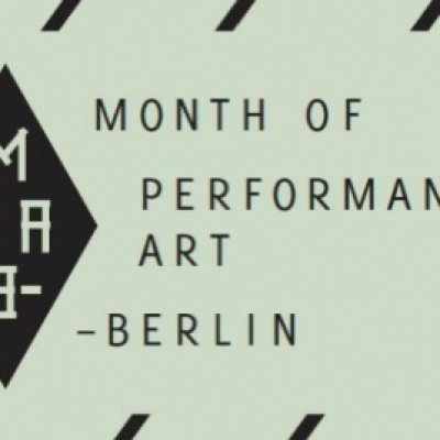 BERLIN · MONTH OF PERFORMANCE ART
