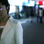 Somi Park's LED Eyelashes. Photo: Minsoo Kang