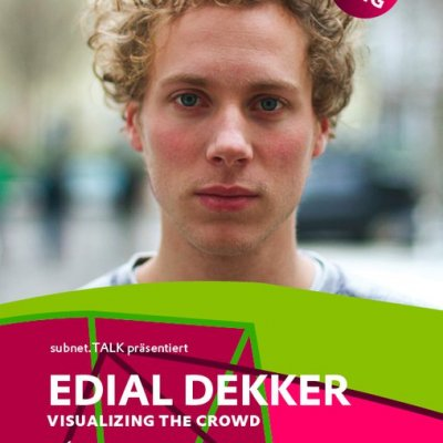Edial Dekker: visualizing the crowd