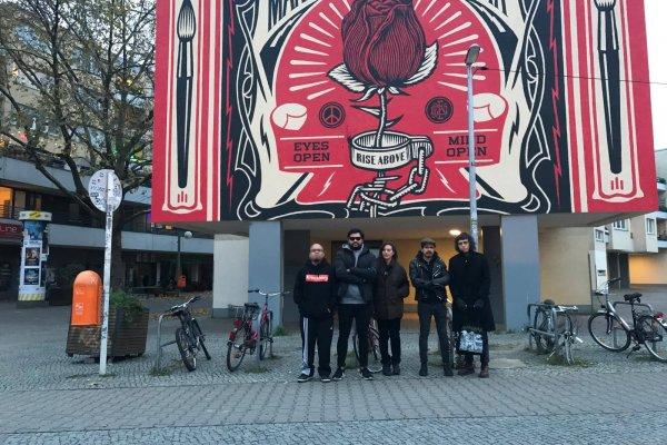 Crew Ensemble: Indigo, Practice, Camille Mandoki, Visions Of Lizard, Daniel Arp. Berlin, 2017