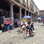 Our member Rodrigo Vázquez Guerrero arrived using the eco-bici. Clap- clap star citizen!