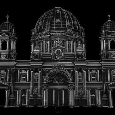 BERLIN · Mapping Berliner Dom