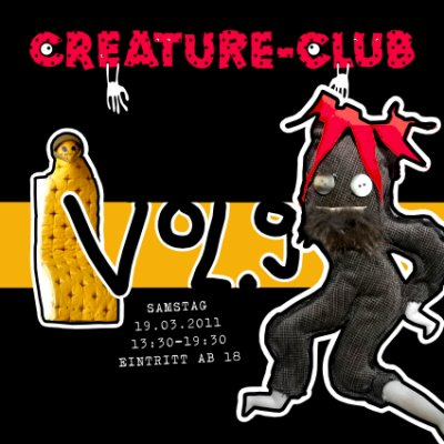 CREATURE-CLUB VOL.9