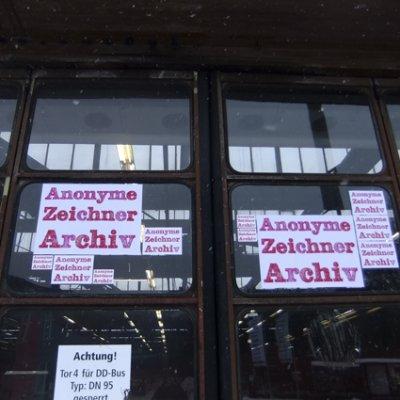 ARCHIV ANONYMER ZEICHNUNGEN