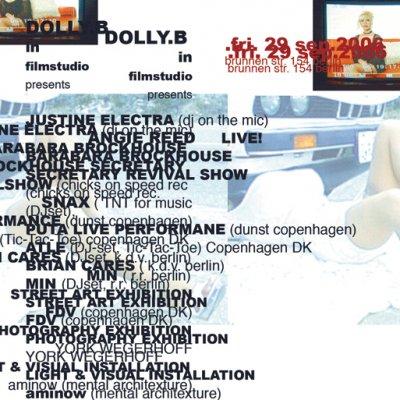 DOLLY BUSTER´S  ex PORNSTUDIOS- party am 29.09