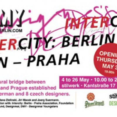 "Designmai Youngsters: ""Intercity: Berlin – Praha"""