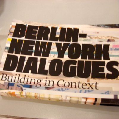 Berlin/New York Dialogues - Berlin session