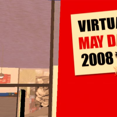 virtual may day on union island in secondlife