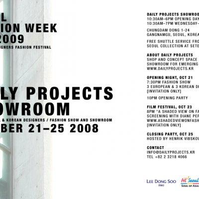 SEOUL  FASHION WEEK S/S 2009