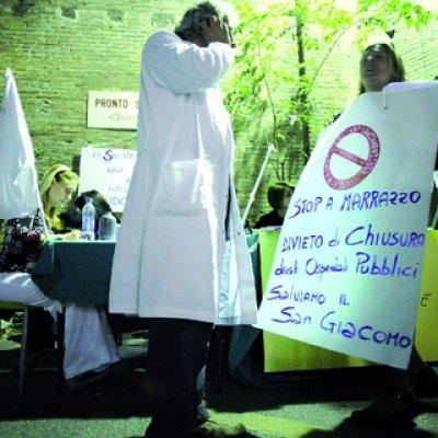 Don´t close San Giacomo Hospital!