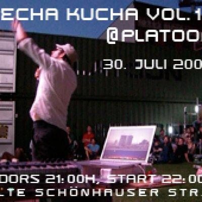 Pecha Kucha Night Berlin Vol.14 @ PLATOON