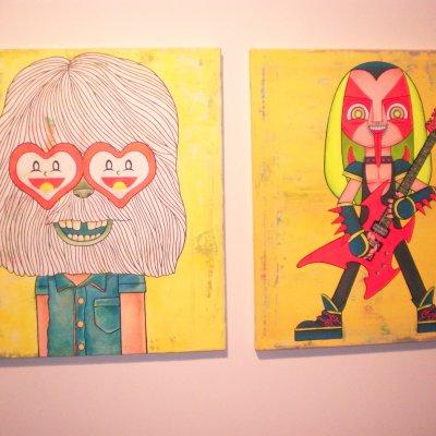 Art Gallery Trouble Maker 2009