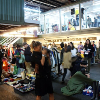 NIGHT FLEA MARKET vol. 2 @ PLATOON KUNSTHALLE in seoul