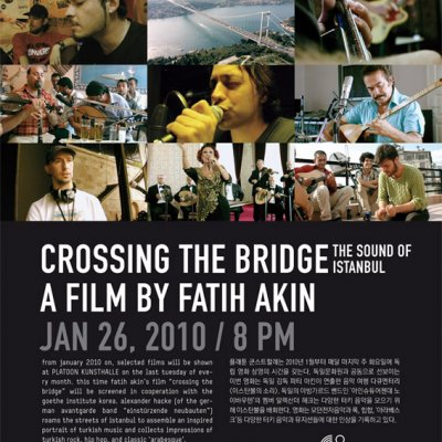 TUE 26 JAN · TIME: 8 PM · CROSSING THE BRIDGE –<br/ > A FILM BY FATIH AKIN