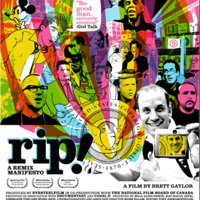 REVIEW: MOVIE NIGHT 'RIP! A REMIX MANIFESTO' by BRETT GAYLOR