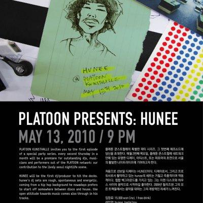 PLATOON PRESENTS: HUNEE