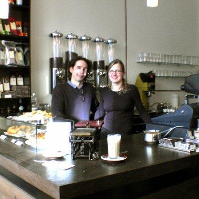 Berlin: New Coffeshop in the Wrangelstrasse